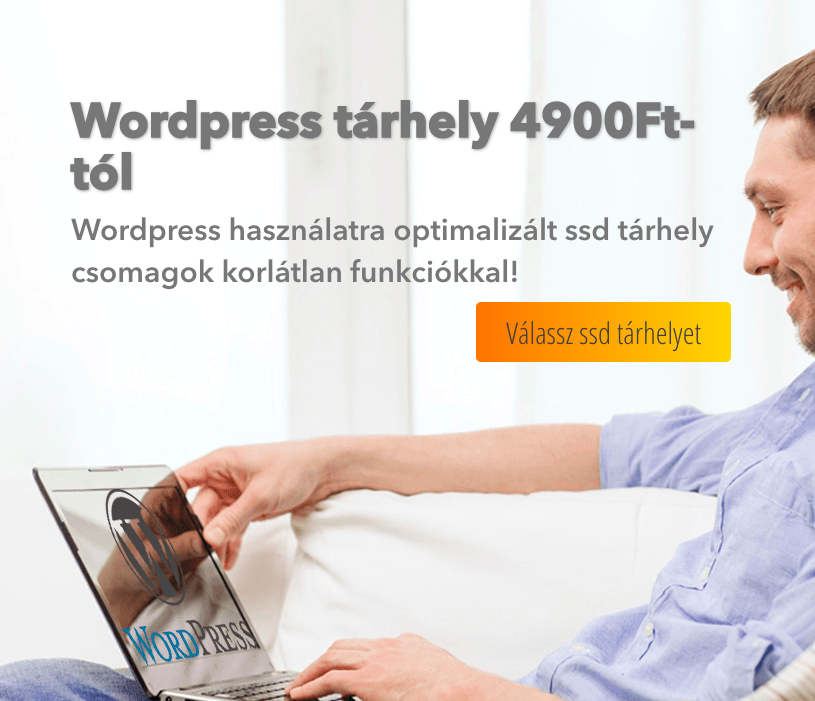 wordpress tárhely
